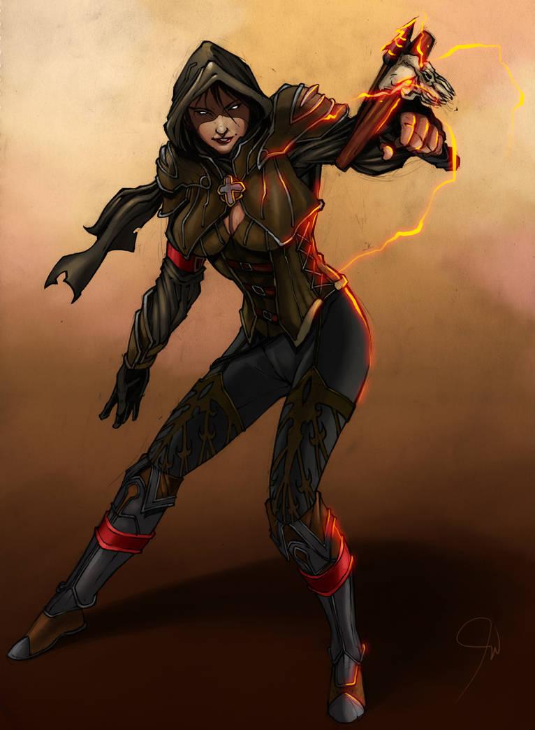Diablo 3 - Demon Hunter by paneseeker
