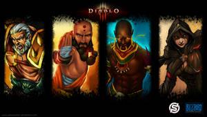 Diablo 3 Wallpaper by paneseeker