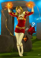 Commission Firebird by paneseeker
