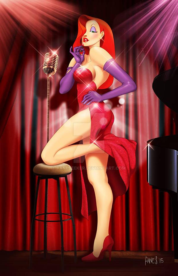 Commission Art: Jessica Rabbit by paneseeker