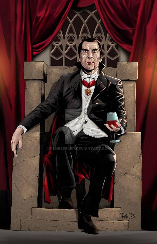 Commission Art: Dracula (Bela Lugosi) by paneseeker