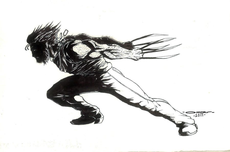 Wolverine by omarmsamy