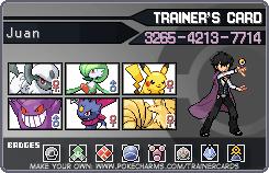 My NEW Pokemon Trainer Card by Darkswordsman64