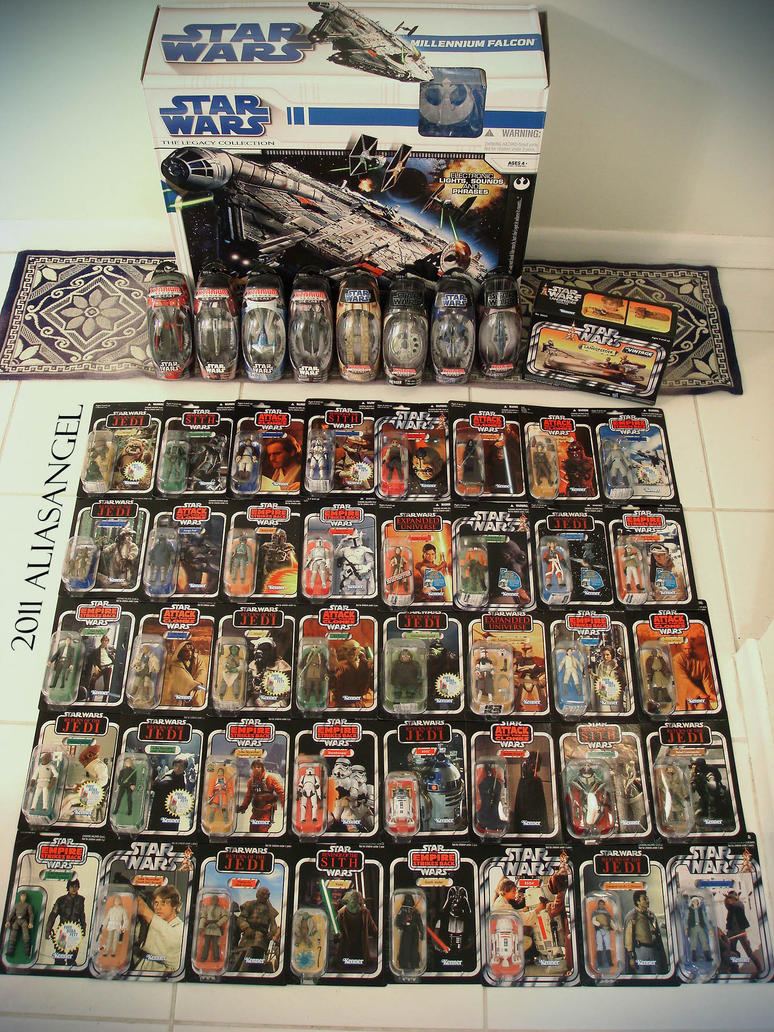 Star Wars Vintage Collection 1 by aliasangel2005