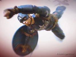 Captain America Without a Parachute Steve Roger