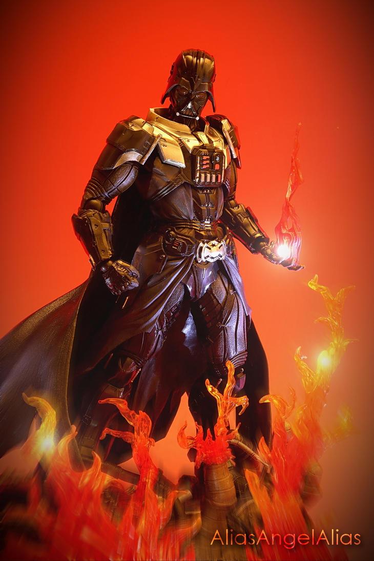 Star Wars Play Arts Kai Darth Vader 01 by aliasangel2005
