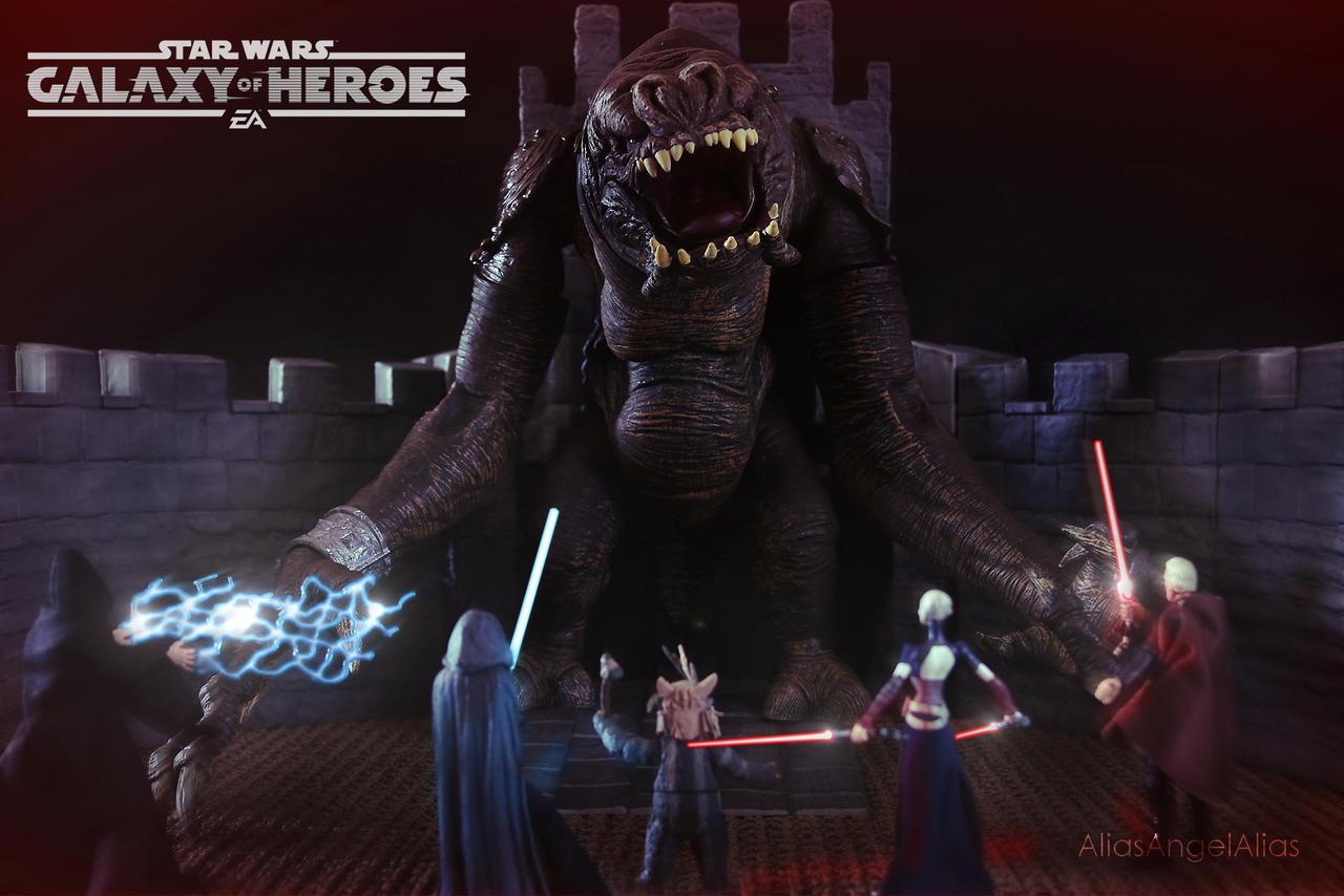 Star Wars Galaxy of Heroes The Rancor Raid 03 by