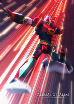 Soul of Chogokin Full Action GX-83 Tosho Daimos 05