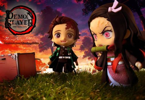 Nendoroid Demon Slayer TANJIRO and NEZUKO KAMADO 9