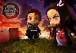 Nendoroid Demon Slayer TANJIRO and NEZUKO KAMADO 9 by aliasangel2005