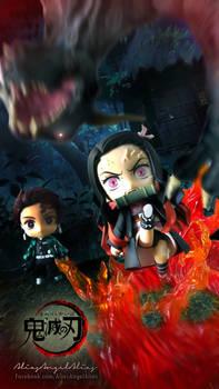 Nendoroid Demon Slayer TANJIRO and NEZUKO KAMADO 8