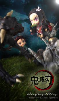 Nendoroid Demon Slayer TANJIRO and NEZUKO KAMADO 7
