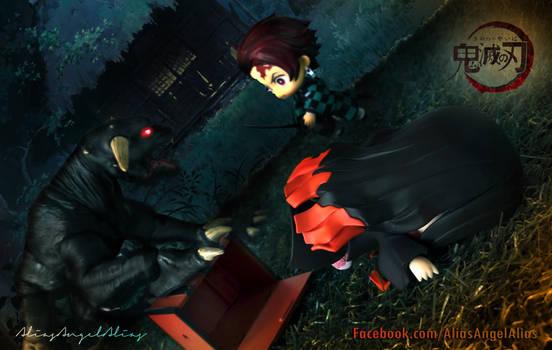 Nendoroid Demon Slayer TANJIRO and NEZUKO KAMADO 5