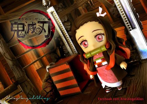 Nendoroid Demon Slayer TANJIRO and NEZUKO KAMADO 2