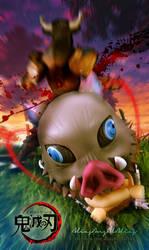 Nendoroid Demon Slayer Zenitsu and Inosuke 05