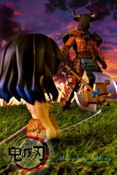 Nendoroid Demon Slayer Zenitsu and Inosuke 02