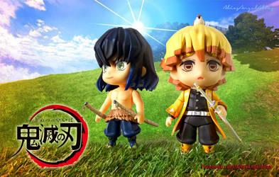 Nendoroid Demon Slayer Zenitsu and Inosuke 01