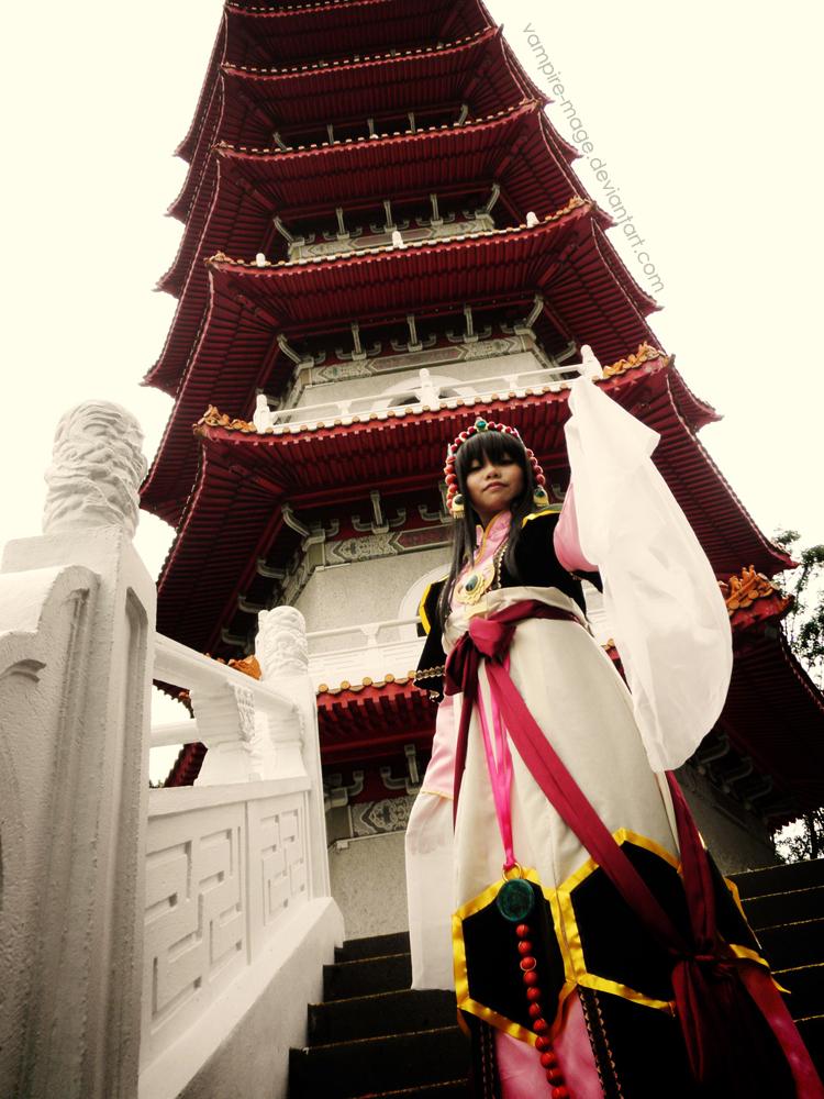 Priestess of Genbu III by vampire-mage