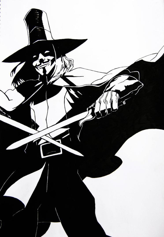 V for Vendetta by ConnorIsSteel