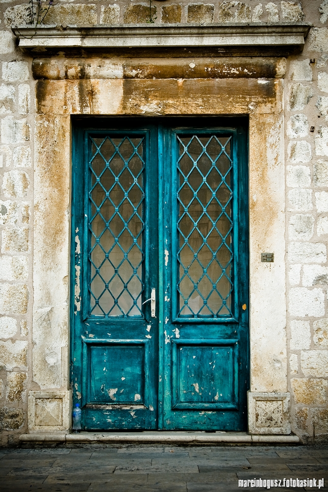 Beautiful Turquoise Door By Troyanarts ...