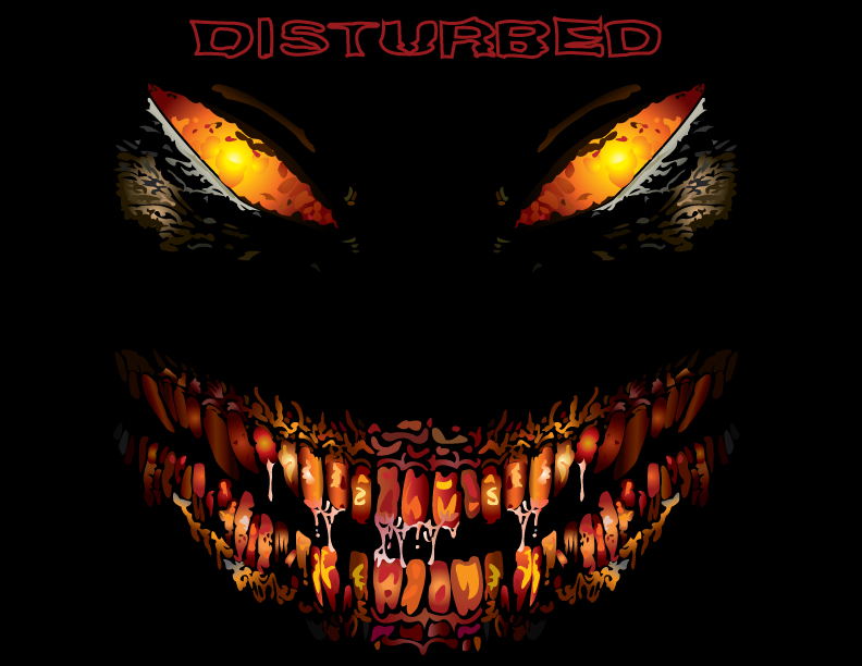 Disturbed Face by foxtalon on DeviantArt