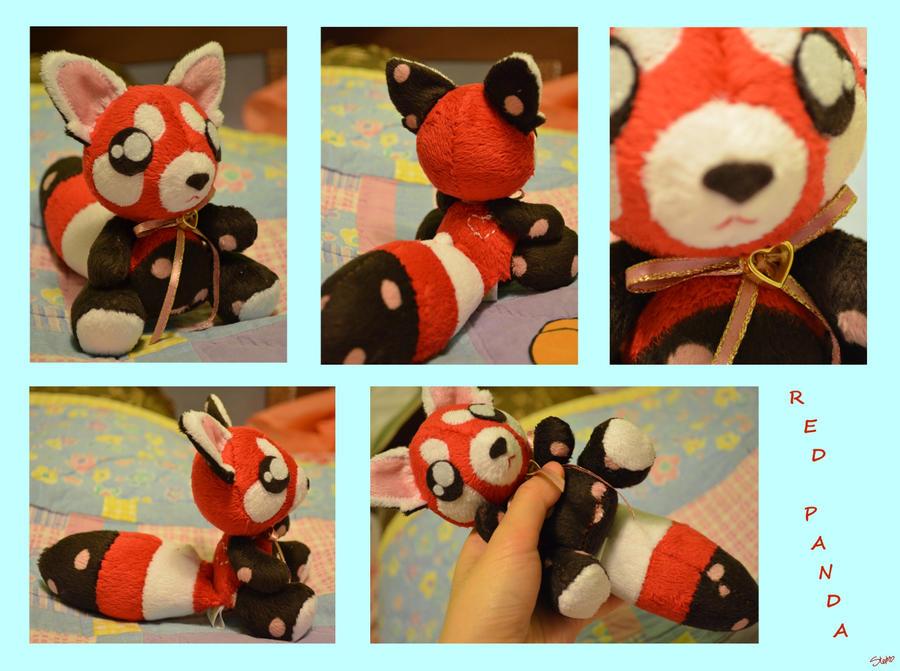 ART TRADE: Red Panda Cutie by CoffeeCupPup