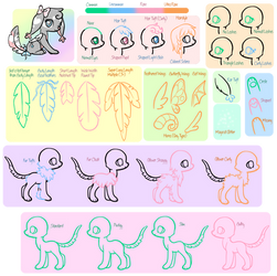Feathertail Species Sheet