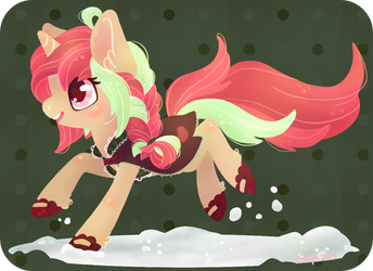 ~Prancing Through The Snow~ by CoffeeCupPup
