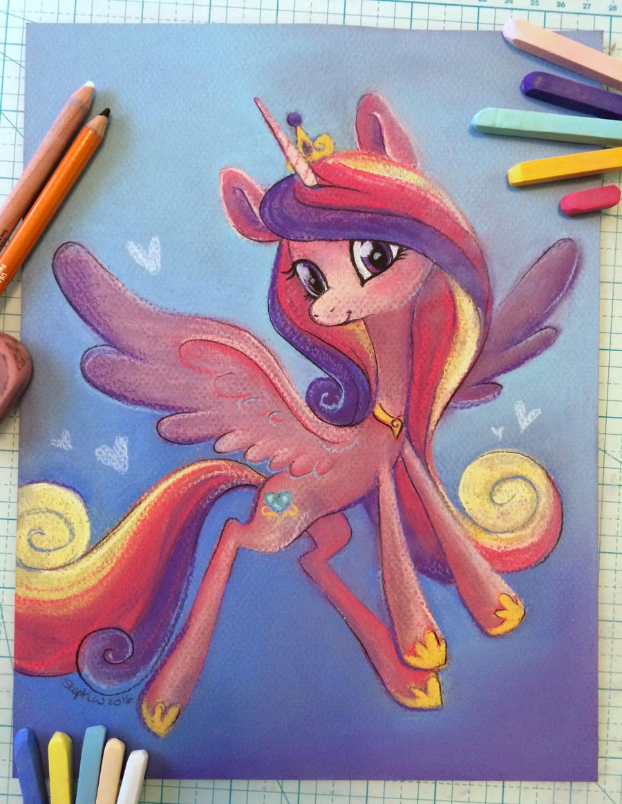 Princess Cadance by CoffeeCupPup