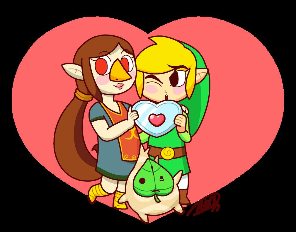 Link Medli and Makar Valentine by M-GOD