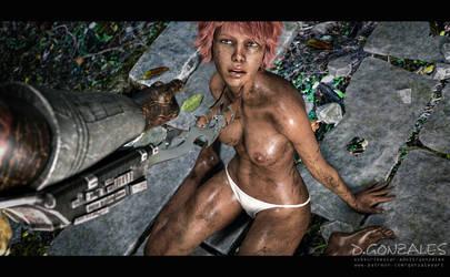 Slave of predator (2) by Gonzalesart