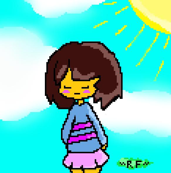 Frisk by RuddyFeeD