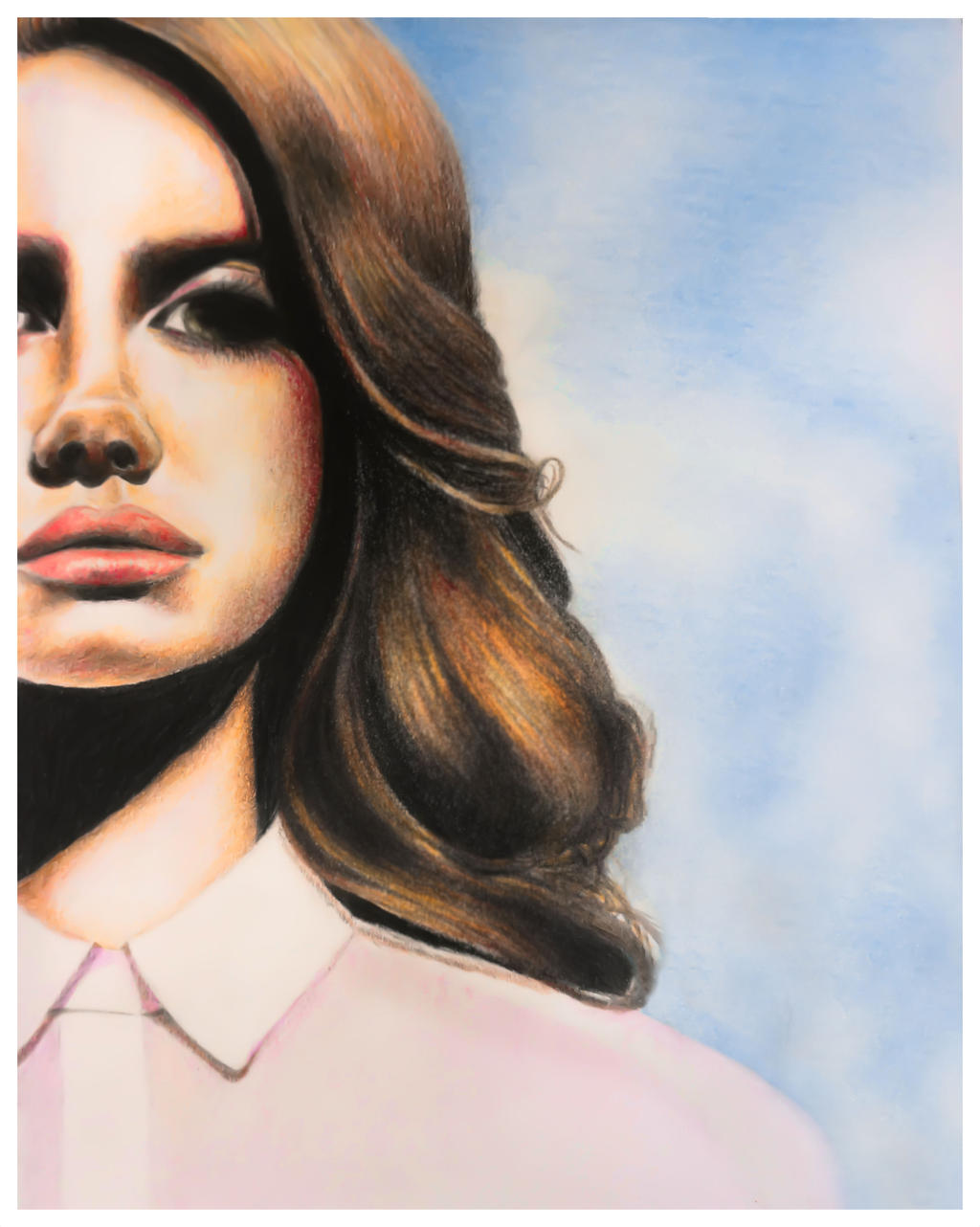 Lana del rey born to die by idhrenniel13 on deviantart for Lana del rey coloring pages