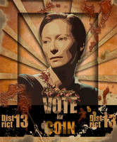 Hunger Games: Coin's Campaign by arianaglori