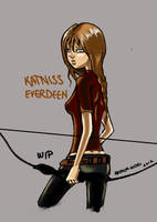 katniss by arianaglori