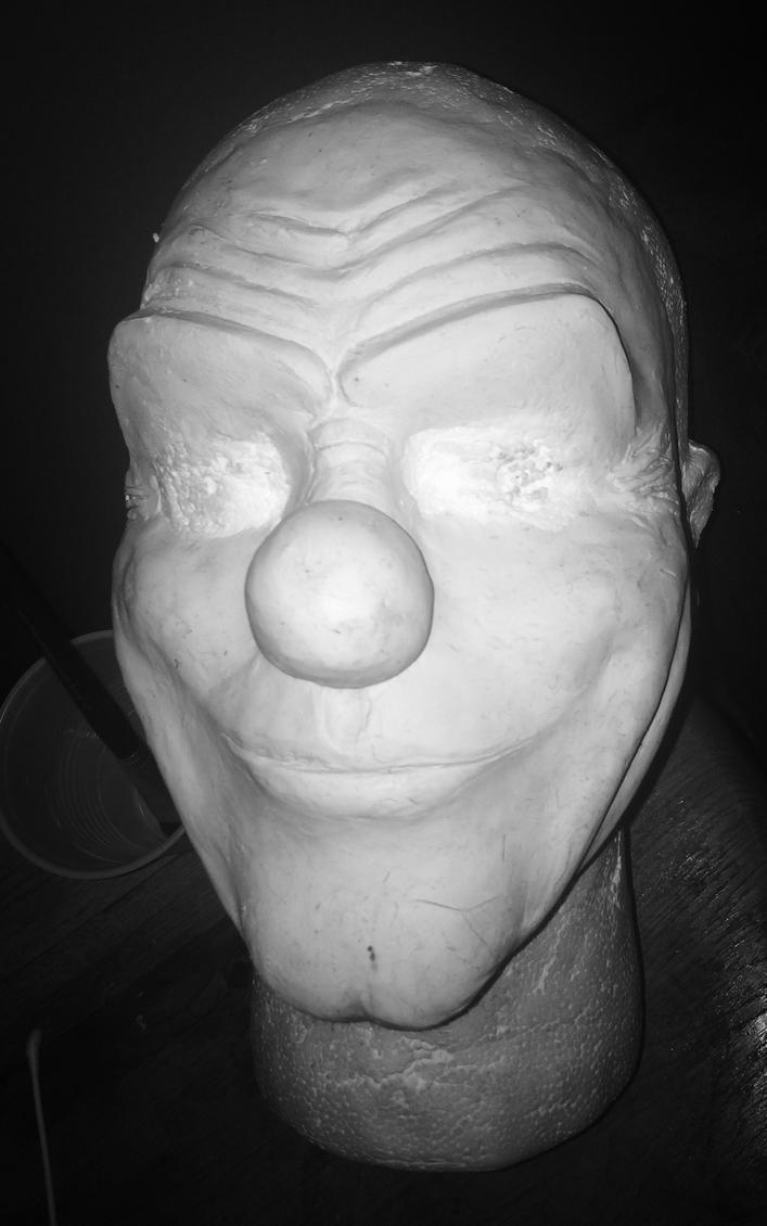 Clown Mask Sculpt by arianaglori