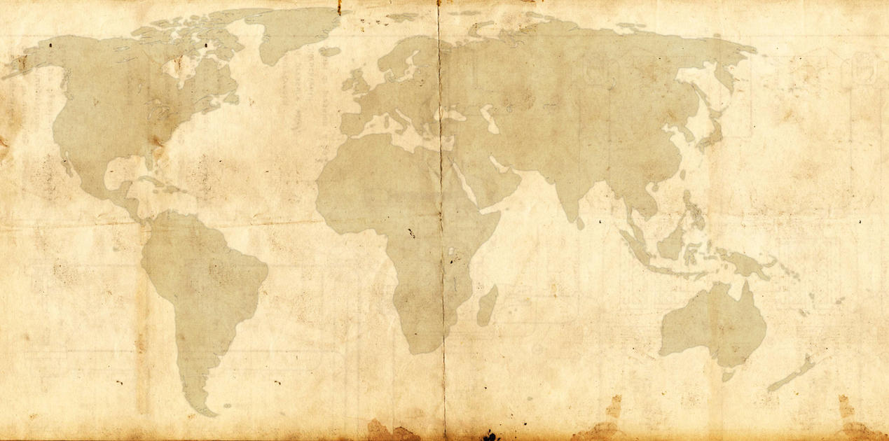 World Map Template SteampunkVictorian Style By FloppyBootStomp On - Victorian world map
