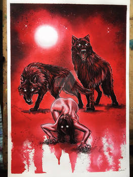 Running with wolves red version