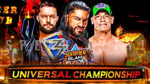 Roman Reigns vs John Cena vs Finn Balor SummerSlam