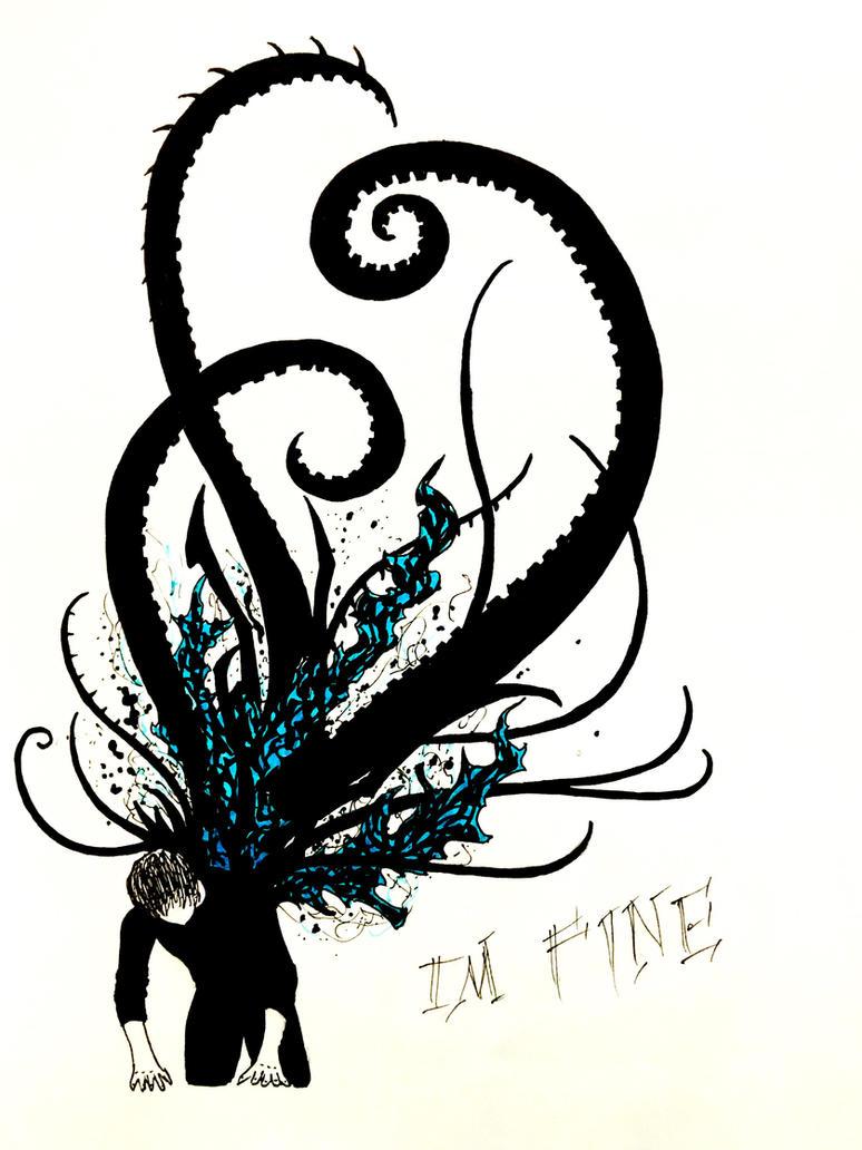 I'm Fine by AzureAzrael
