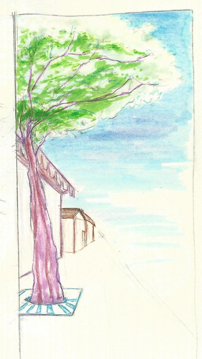 tree-lined by MrGlassesMan