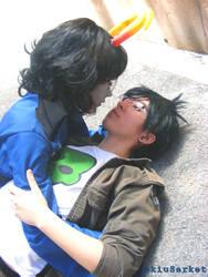 Aranea and Jake - Homestuck Cosplay