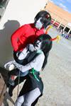 Porrim and Kankri cosplay - Homestuck