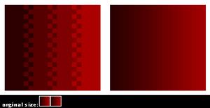 pixel art VS soft transitions