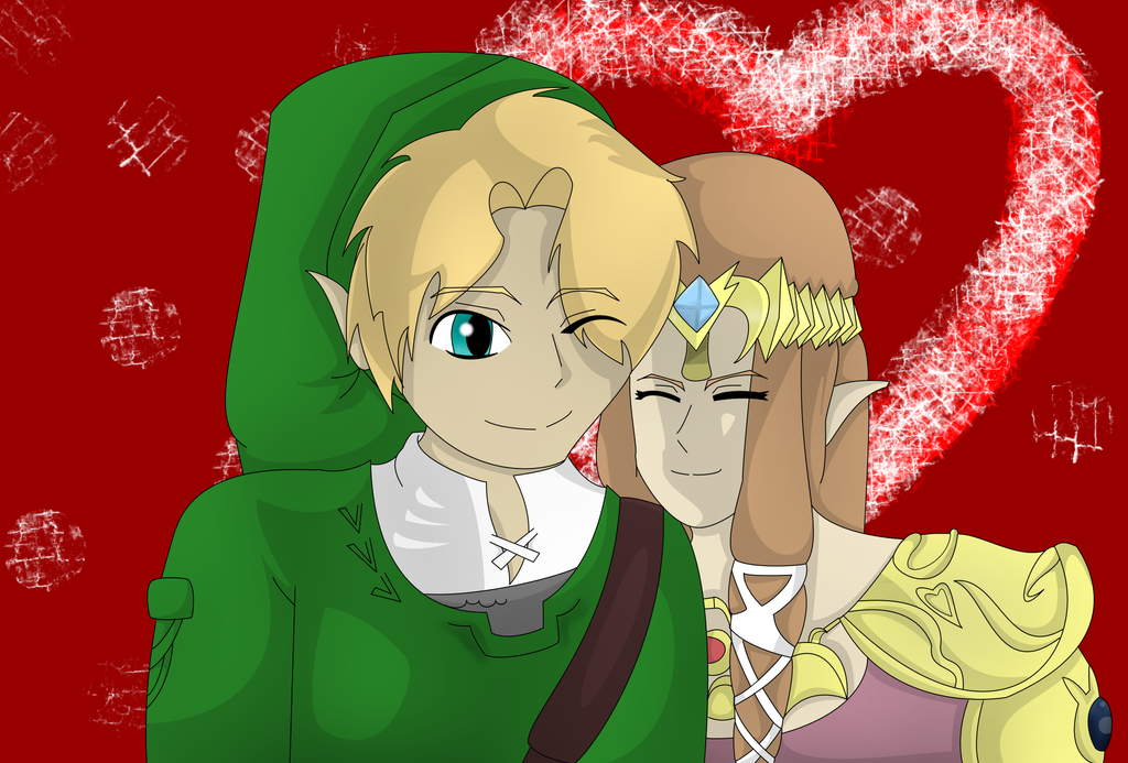 Love is in the air by charliethemew012