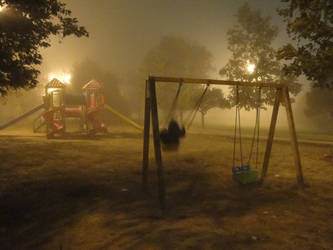 Night at the park by ilhamt