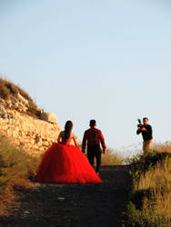 Engagement scenery in Titus tunnel, Antakya by ilhamt