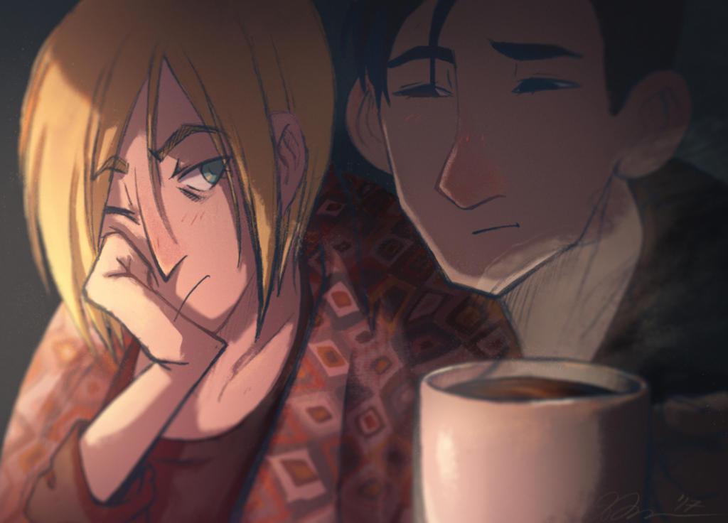 Morning Coffee by sinsofJoy