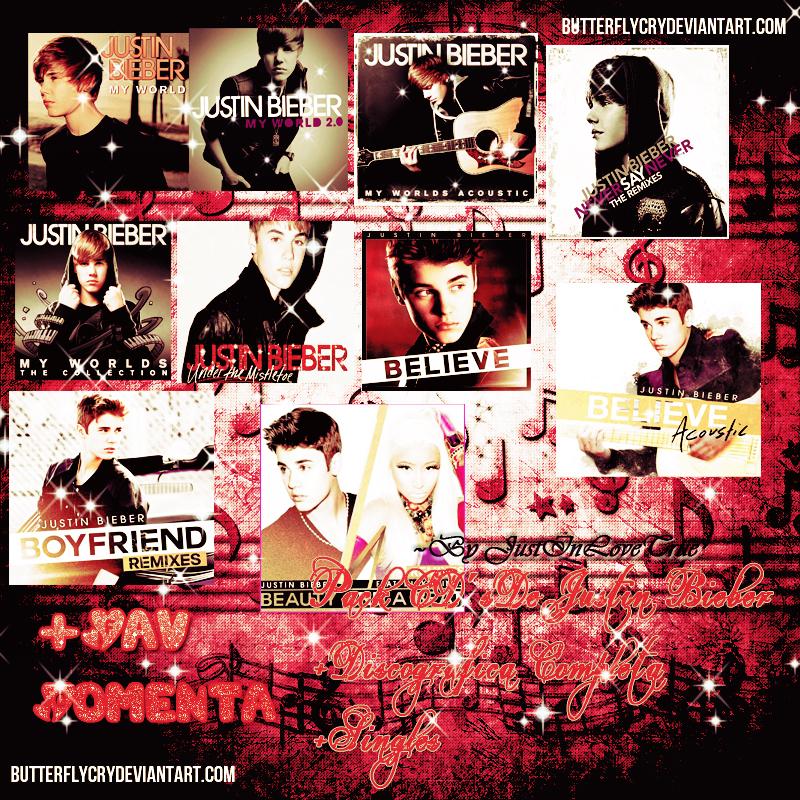 PACK CD's Justin Bieber (DOWLOAND) by JustInLoveTrue