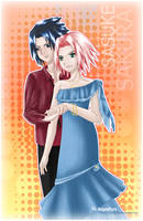 Romance sakura and sasuke by LOVE--WING